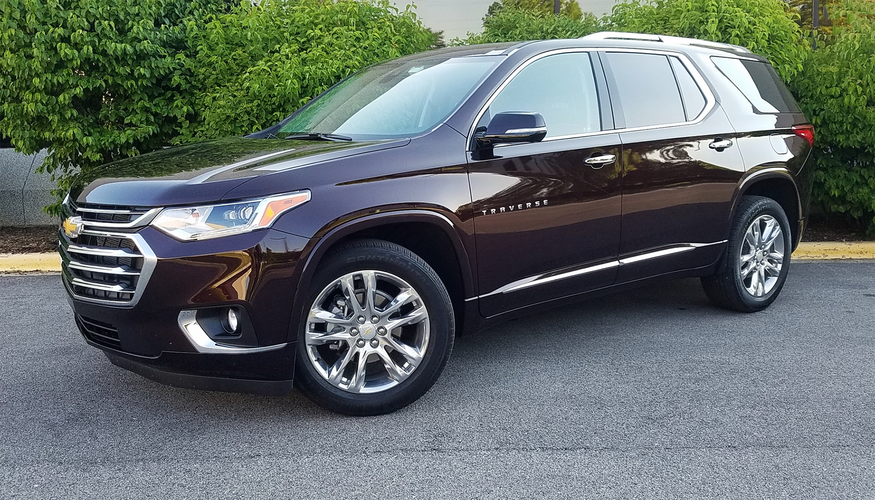 test drive: 2020 chevrolet traverse high country
